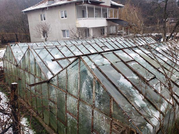 Sera,solar pentru profesionala gradina legume bio,flori din sticla
