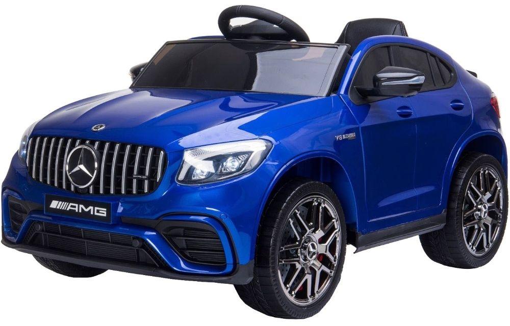 Masinuta electrica pentru copii MERCEDES GLC 63S AMG SUV #Albastru