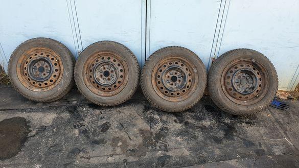 Джанти 4х100 тойота с гуми 175 65 14 гуд йър