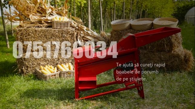Sfarmatoare Batoza Desfacatoare Curatator Porumb Galeata Sac 1500kg/or
