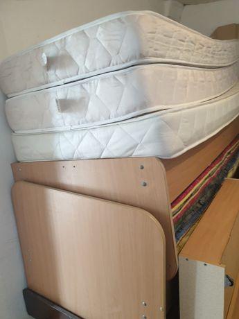 Односпальные кровати с матрасом + доставка установка