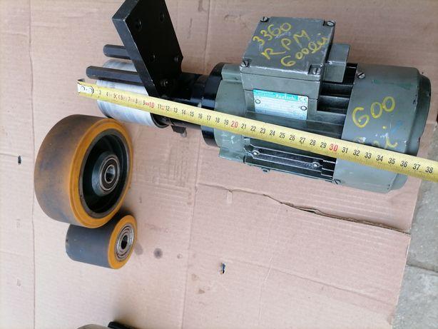 Motor electric polizor cu banda