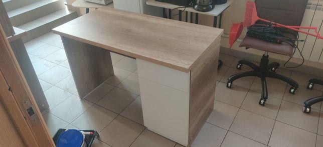 Продам новую офисную мебель(3 стола и шкаф)