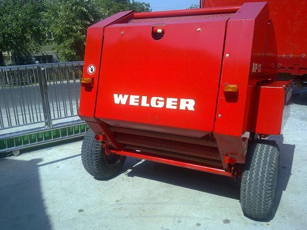 Presa balotiera WELGER an 2012 balot 120x120 Claas Krone Rollant