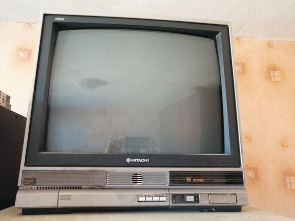 Ретро ТВ Хитачи, произведен в Япония