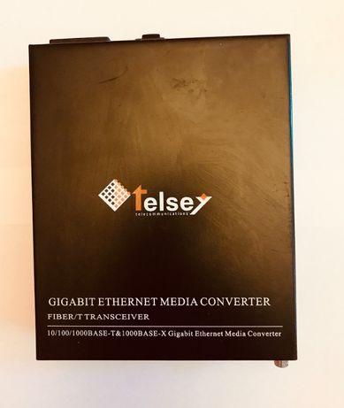Медиен конвертор, оптичен преобразовател Telsey MG102