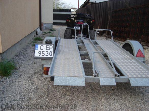 Платформи за коли , мотори и атв под наем