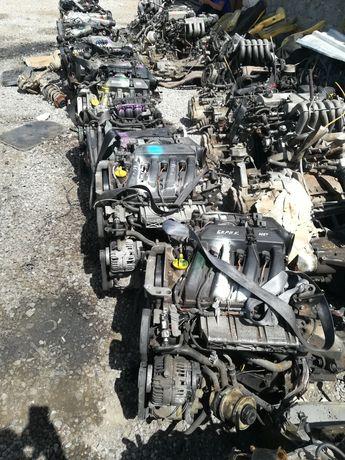 Контрактный двигатель на рено Лада Ларгус Логан