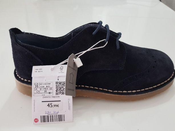 Pantofi piele - Mango copii