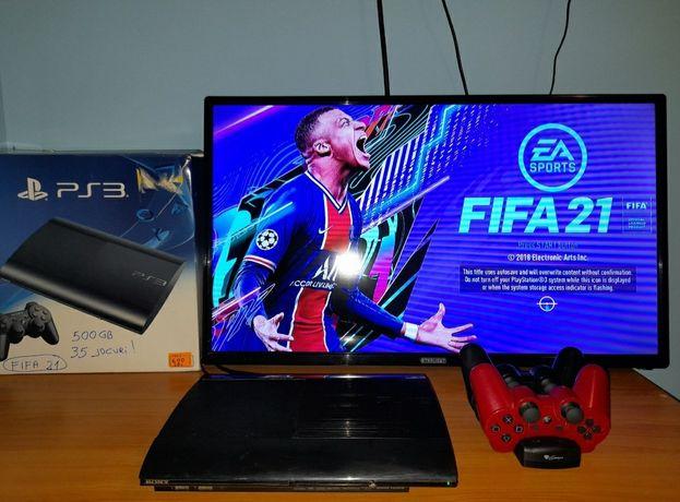 PlayStation 3 (PS3) FIFA 21/GTA 5/Minecraft/Mortal Kombat/NFS/UFC