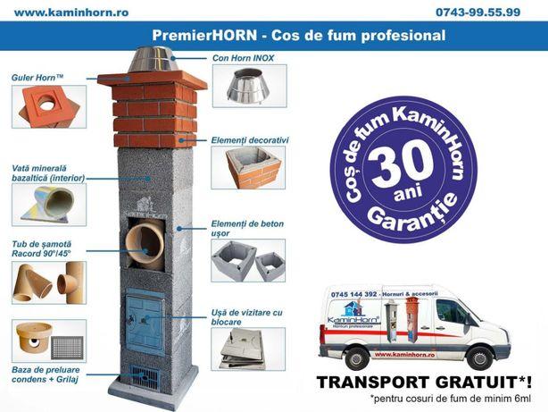 Cos de fum profesional KaminHorn Premier - Horn ceramic - AB