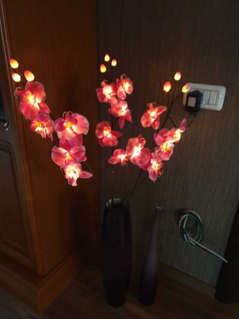 Lampa orhidee pentru interior