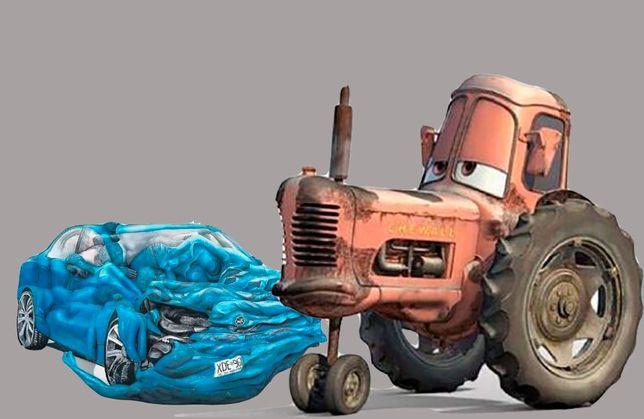 Выкуп авто. Тракторов, грузовых автомобилей,  легковых. Самовывоз
