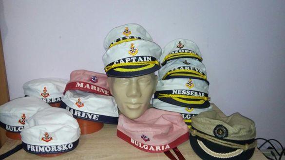 Моряшка капитанска морска шапка капитан юнга