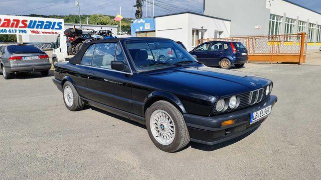 BMW E30 318i Cabrio Ursulet Fara Rugina Scaune Überkaro 1991 Servo