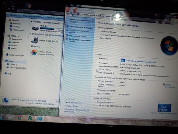 Лаптоп Acer голям