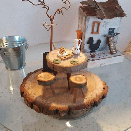 Cadouri handmade unicate- casute decor din lemn