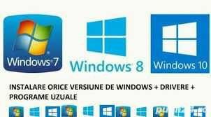 Instalari Windows 10 / Service calculatoare laptopuri / Routere wifi