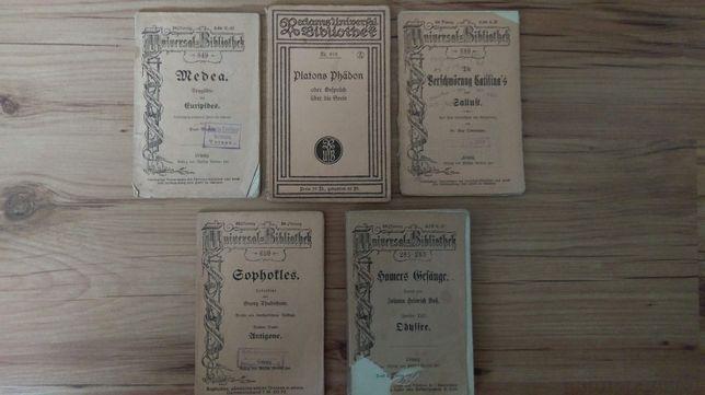 Pachet cu carticele vechi in limba germana