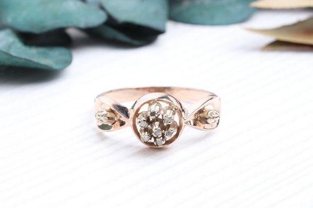 Кольцо с бриллиантами , золото 585 Россия, вес 2.52 г. «Ломбард Белый»