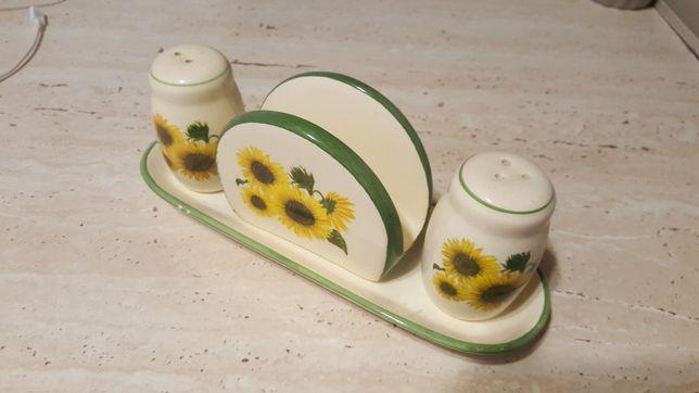 Set ceramic sare- piper- șervețele