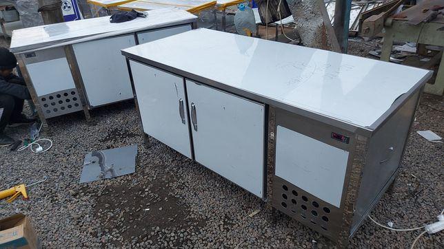 Стол холодильник из нержавейки