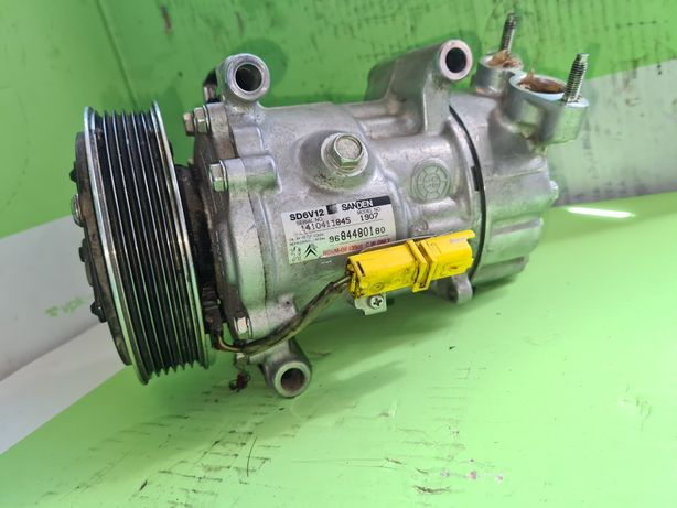 Compresor aer condiționat 9646321880 Peugeot 407 1.6 hdi