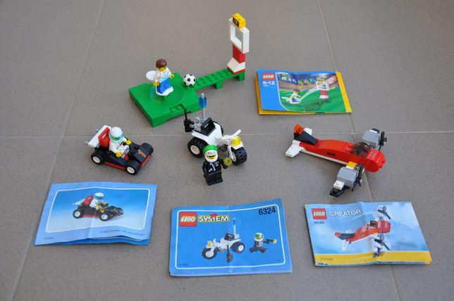 Lot Lego 6324, 6436, 1430, 30180, colectie Lego