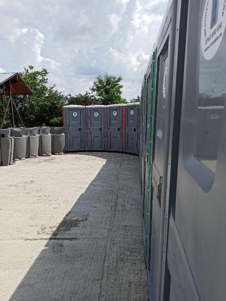 Toalete WC ecologice mobile vidanjabile/racordabile Bacau + BONUS