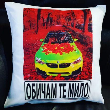 Авто възглавници BMW,Mercedes и Audi по-ваши снимки и имена
