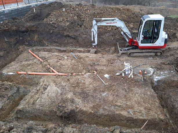 Miniexcavator 3.5 t