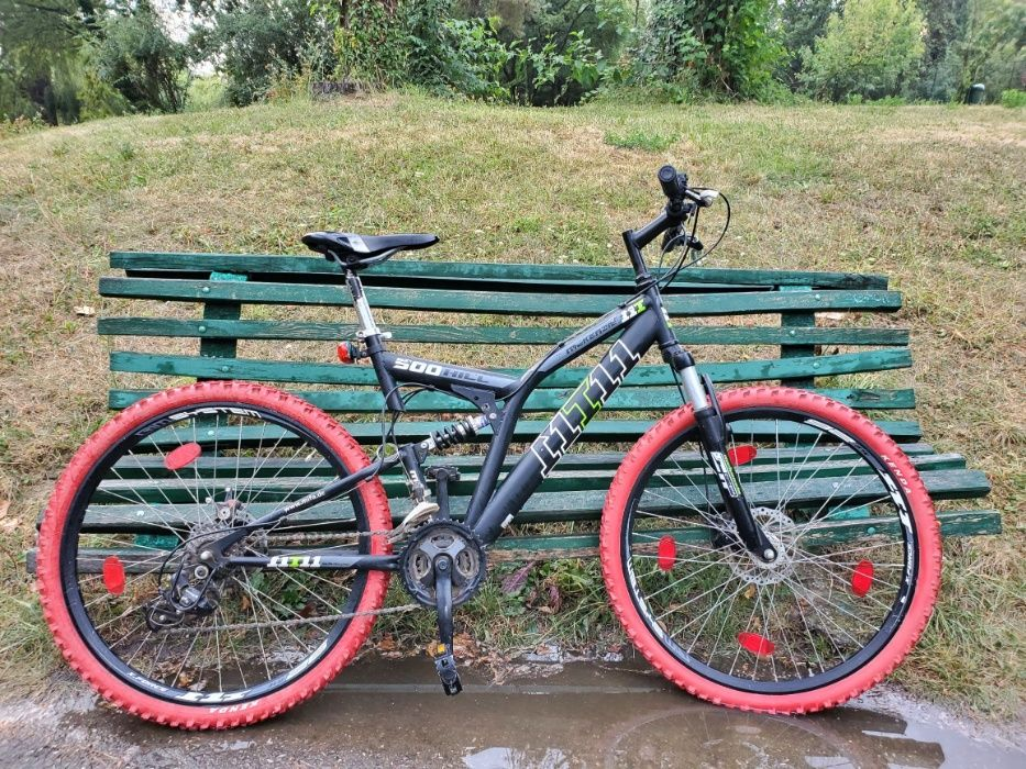 Vand Bicicleta (MTB) Mckenzie 500 Hill Full suspension