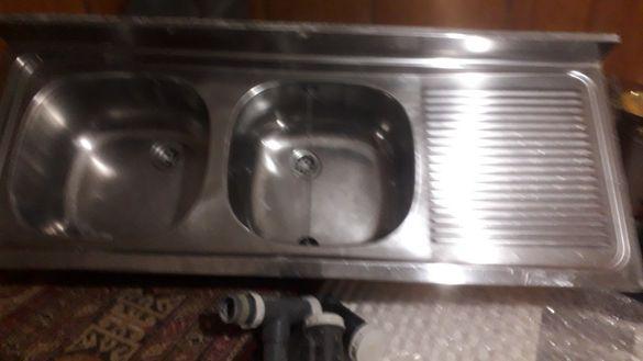 Двойна мивка алпака