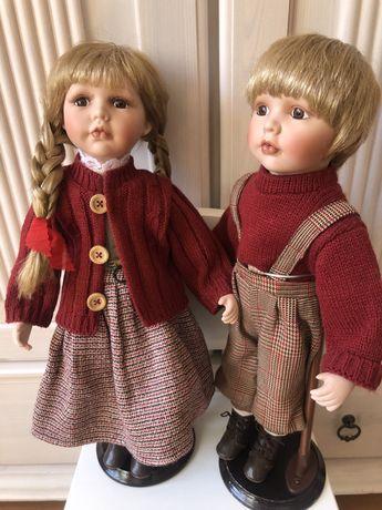 Куклы фарфоровые новые