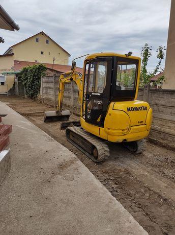 Lucrări de excavații și transport