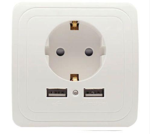 Контакт с 2 USB Ports 2A