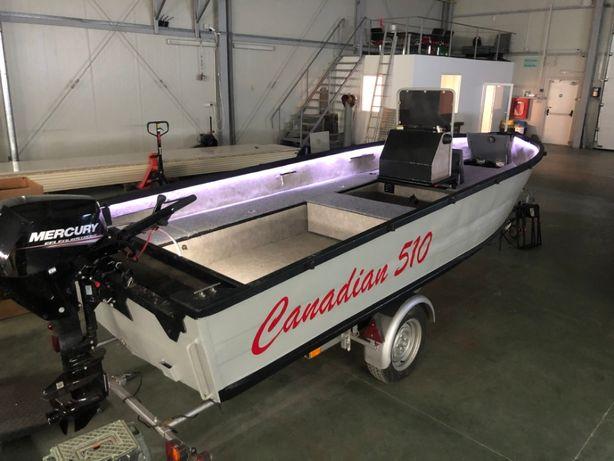 Vand Barca Aluminiu Canadian 510