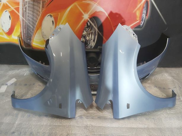 Pachet Bara+Aripa Fata Dr&Stg Opel Corsa D 2006-2011 (4MU (Albastru))