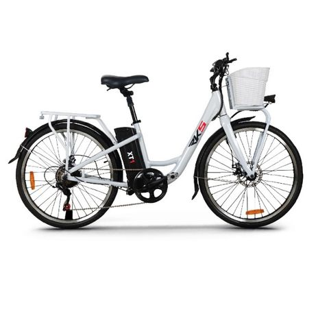 Bicicleta Electrica Deluxe RKS XT1, Cadru Aluminiu, Motor liniar 250W