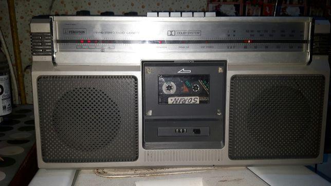 VINTAGE! Radiocasetofon FERGUSON