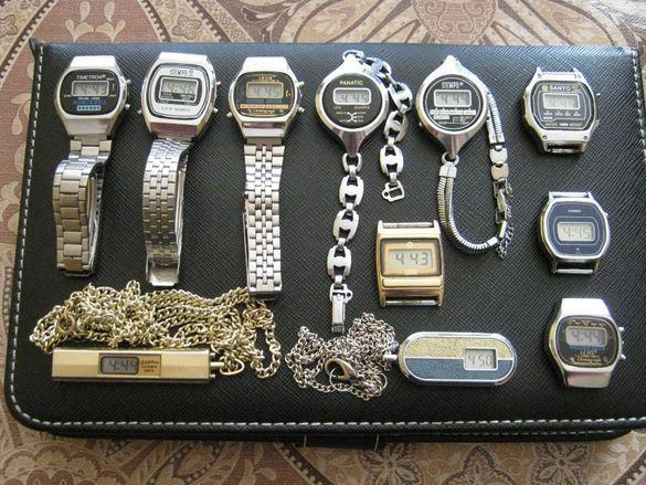 Лот стари електронни часовници