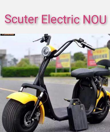 Scuter Electric cu Autonomie mare