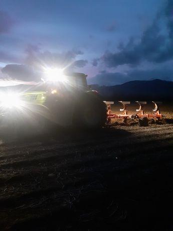 Cereale recoltam, aratura si alte lucrari agricole