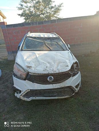 Машина в аварийном состоянии