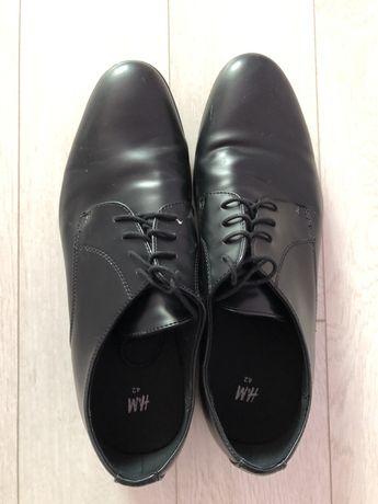 Мъжки кожени обувки H&M