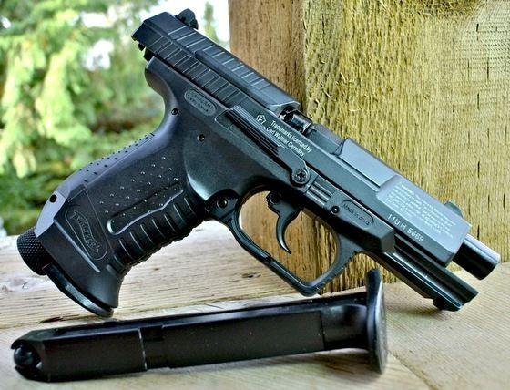 Atentie! Replica Walther p99 DAO Full Metal 4,2j