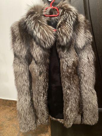Vesta blana vulpe argintie