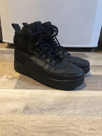 Nike air force 1 af1 sf 40 black negru mid high