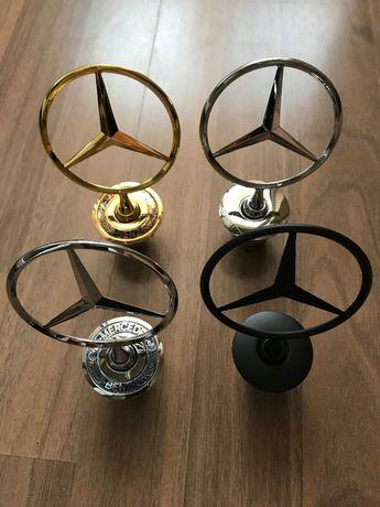 Emblema semn logo capota Mercedes Benz si 2 editii limitate!