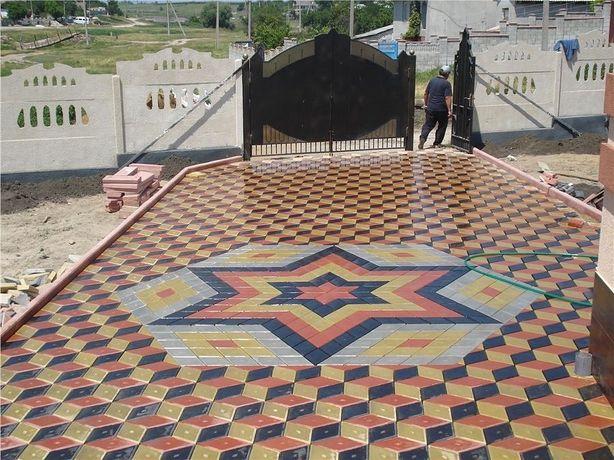 Брусчатки около 33 видов и тротуарные плитки в Атырау